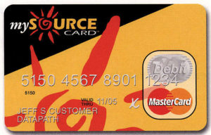 How does the MySource Card Work?